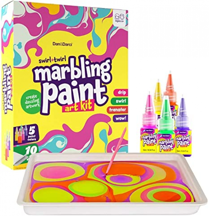 ihocon: Dan&Darci Marbling Paint Art Kit