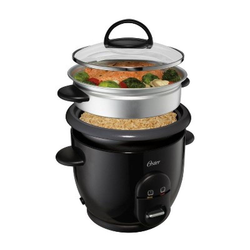 ihocon: Oster DiamondForce Nonstick 6-Cup Electric Rice Cooker 不粘鍋電飯鍋