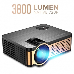 ihocon: XIAOYA W5 Native 720P Mini Movie Projector with HiFi Speaker, 3800 Lumen 迷你家庭劇院投影機