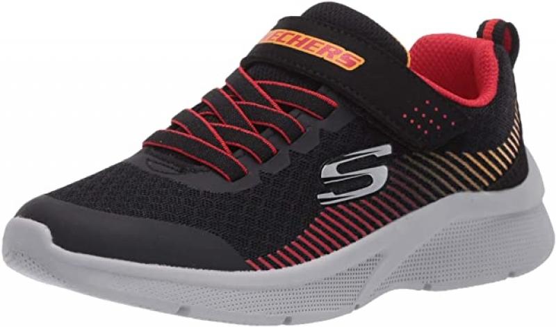 ihocon: Skechers Unisex-Child Microspec-Gorza Sneaker 童鞋
