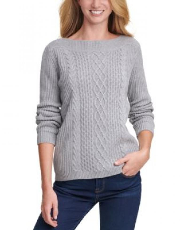 Tommy Hilfiger 女士毛衣 – 多色可選 $39.99(原價$79.50)