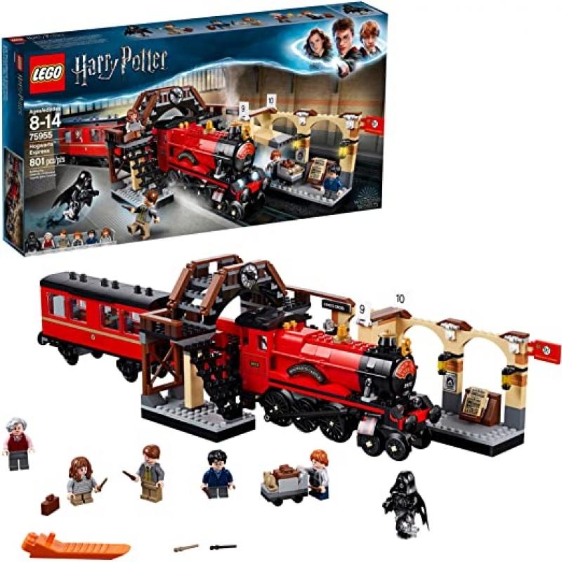 ihocon: 樂高哈利波特LEGO Harry Potter Hogwarts Express 75955 Toy Train Building Set(801 Pieces) 霍格沃茨特快列車