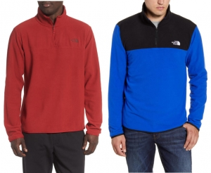 ihocon: THE NORTH FACE TKA Glacier Quarter Zip Fleece Pullover-多色可選