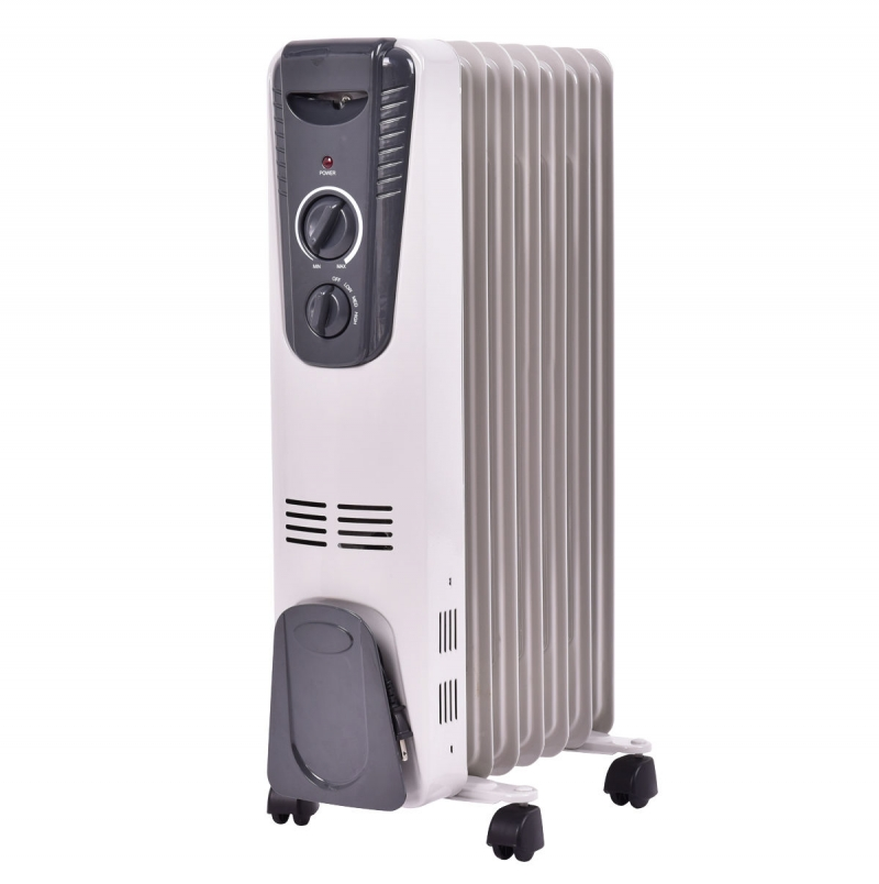 ihocon: Costway Costway 1500W Electric Oil Filled Radiator Space Heater 電暖爐