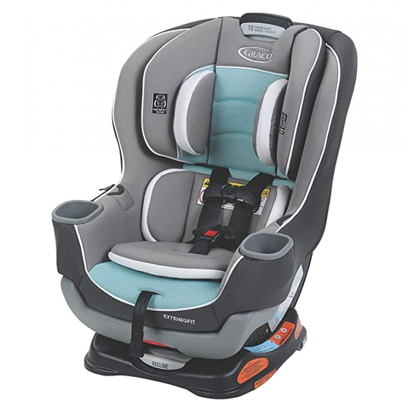 ihocon: Graco Extend2Fit Convertible Car Seat | Ride Rear Facing Longer with Extend2Fit 兒童汽車座椅