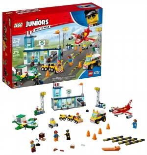 ihocon: LEGO Juniors City Central Airport 10764 (376 Pieces) Toy Set