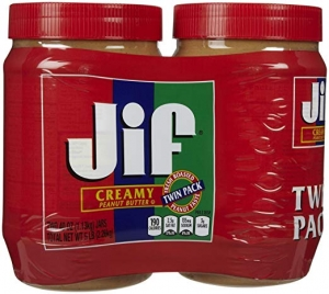 ihocon: Jif Creamy Peanut Butter, 40 oz., 2 Count 花生醬