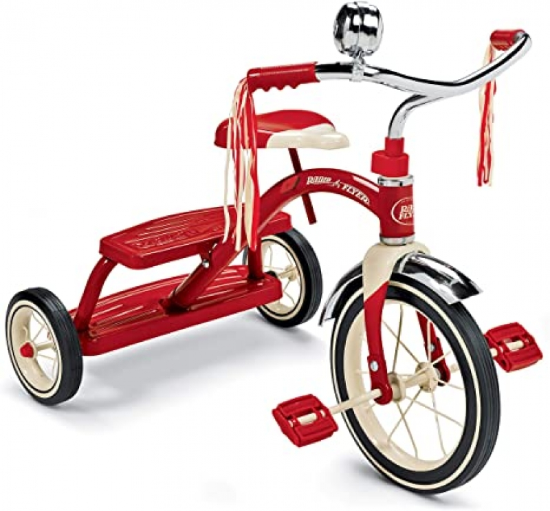 ihocon: Radio Flyer Classic Red Dual Deck Tricycle 三輪車
