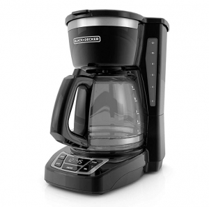 ihocon: BLACK+DECKER 12-Cup Programmable Coffeemaker, Black, CM1160B  可自訂程序咖啡機