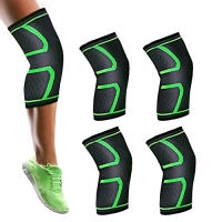 ihocon: Ankuka 4 Pack/2 Pairs Knee Brace Support護膝2副