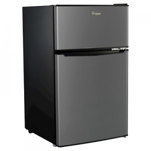 ihocon: Whirlpool 3.1 cu ft Mini Refrigerator - Stainless Steel BCD-88V 惠而浦小冰箱