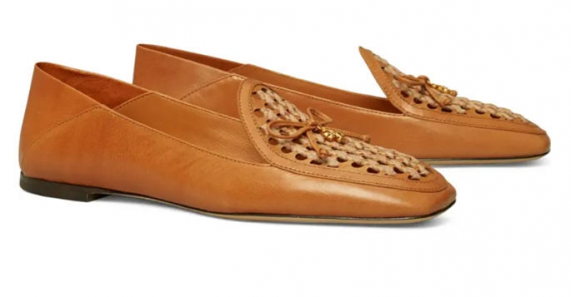 ihocon: TORY BURCH Charm Woven Loafer 女鞋