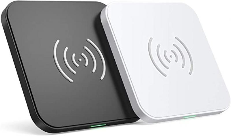 ihocon: CHOETECH Qi-Certified Fast Wireless Charging Pad (2 Pack),10W 快速手機無線充電板