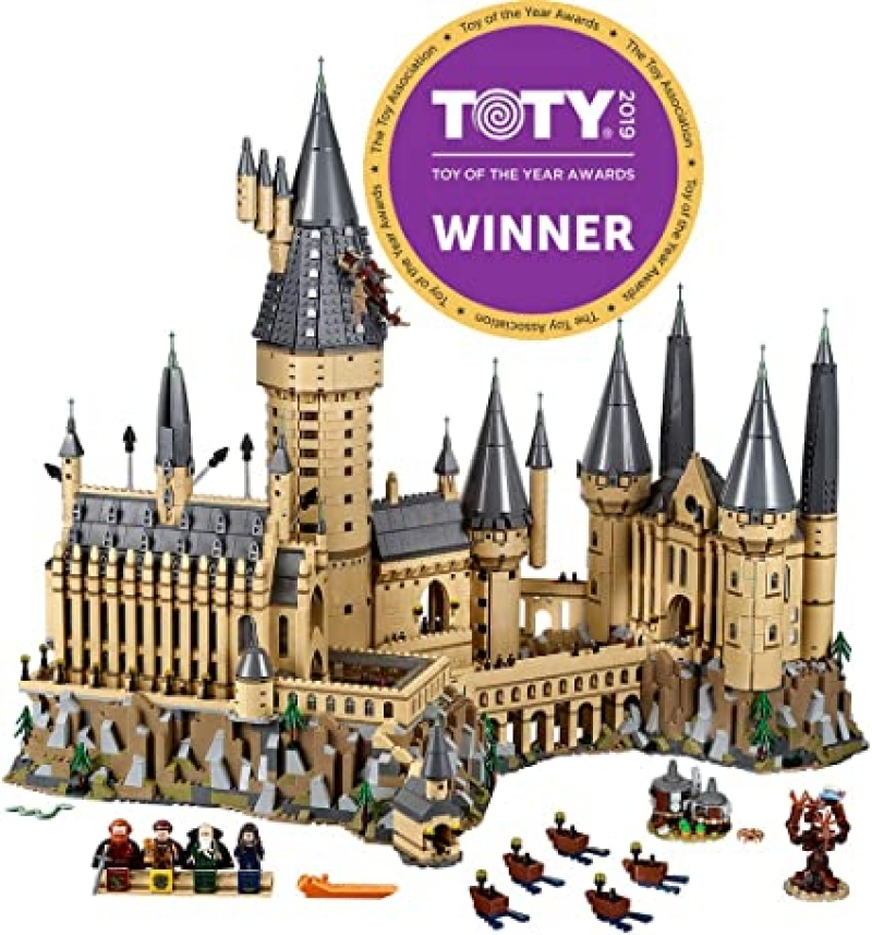 ihocon: 樂高積木LEGO Harry Potter Hogwarts Castle 71043 Castle Model Building Kit (6,020 Pieces) 哈利波特霍格華茲城堡