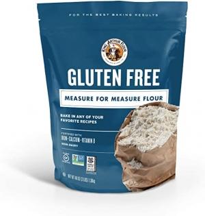 King Arthur Gluten Free無麩質麵粉3磅 $8.99(原價$9.99)