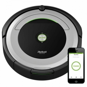 ihocon: Brand New iRobot Roomba 690 App-Controlled Robot Vacuum - Black/Silver智能吸地機器人