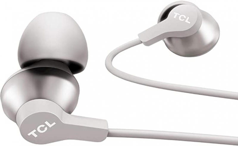 ihocon: TCL Elit100 in-Ear Earbuds Hi-Res Wired Noise Isolating Headphones with Built-in Mic 隔噪耳機(有線)
