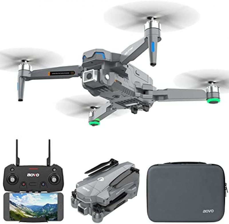 ihocon: aovo 4K EIS Drone With UHD Camera for Adults With 30 Mins Flight Time 空拍無人機