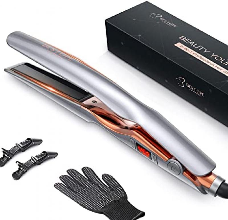 BESTOPE 2合1 電熱直髮/捲髮器 $12.80(原價$31.99)