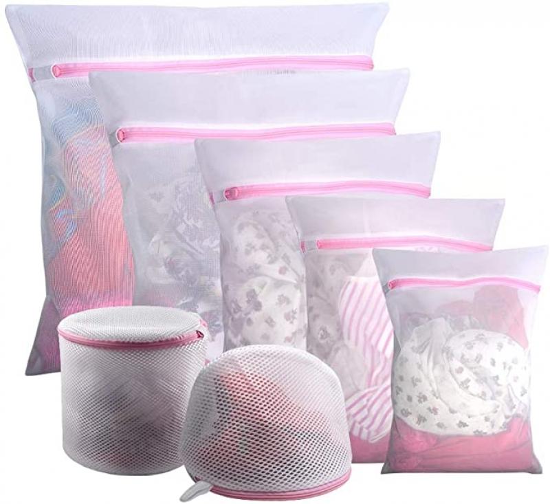 ihocon: Gogooda 7Pcs Mesh Laundry Bags洗衣袋