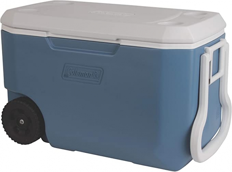 ihocon: Coleman 62-Quart Xtreme 5-Day Heavy-Duty Cooler with Wheels 可拉式有輪保冷箱