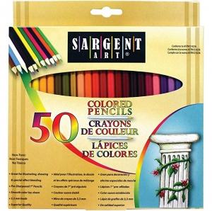 Sargent Art 50色彩色鉛筆 $4.99(原價$9.41)