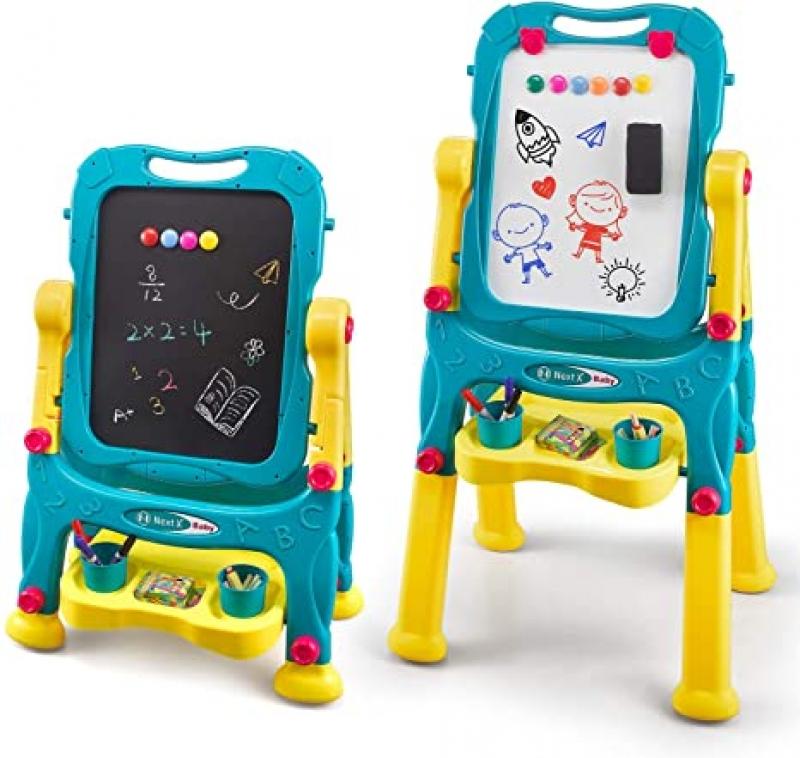 ihocon: NextX Kids Easel for Two 可調高度雙面兒童畫架