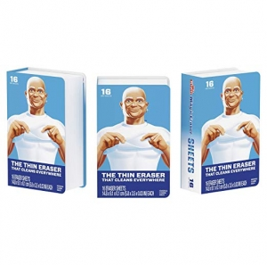 ihocon: Mr. Clean Magic EraserCleaning Sheets, 3 Packs of 16 Sheets, 48 Count 魔術清潔海棉