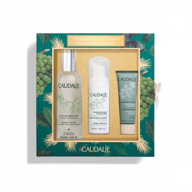 ihocon: Caudalie BEAUTY ELIXIR POWER GLOW ESSENTIALS (價值 $71)