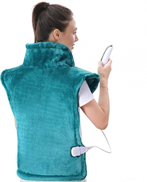 ihocon: MaxKare Large Heating Pad for Back and Shoulder Pain, 24x33 肩頸/背部加熱墊