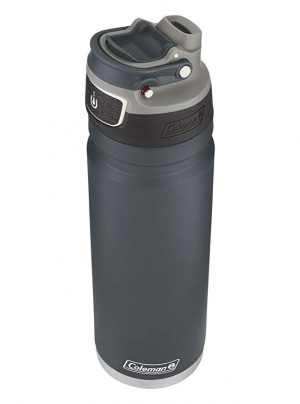ihocon: Coleman FreeFlow AUTOSEAL Insulated Stainless Steel Water Bottle 不銹鋼保温水壺