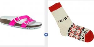 ihocon: Birkenstock Yao Balance Birko-Flor Sandals勃肯女鞋+襪子