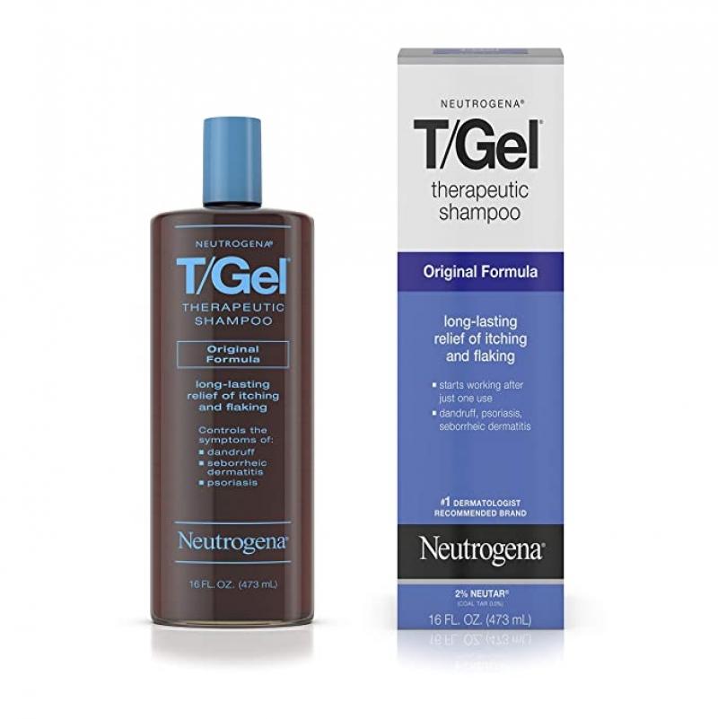 ihocon: Neutrogena T/Gel Therapeutic Shampoo Original Formula, 16 Fl. Oz 露得清洗髮精