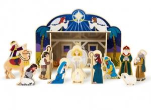 ihocon: Melissa & Doug Wooden Nativity Set