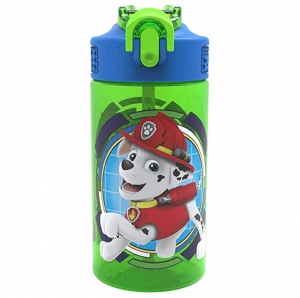 ihocon: Zak Designs PWPL-T120 Paw Patrol Water Bottles, 16 oz, Rocky, Rubble & Chase   水瓶