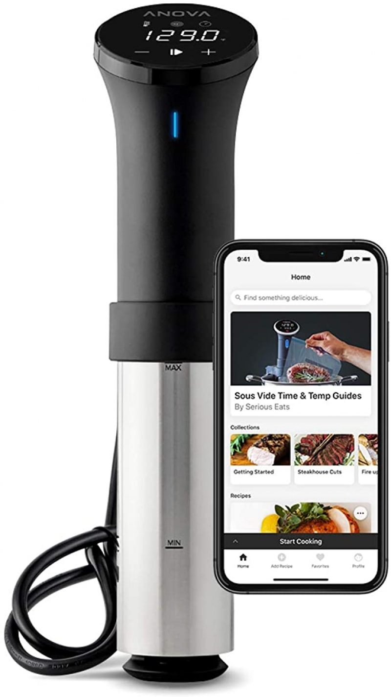 ihocon: Anova Culinary AN500-US00 Sous Vide Precision Cooker (WiFi), 1000 Watts | Anova App Included 低溫慢煮機