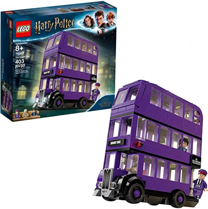 ihocon: LEGO Harry Potter and The Prisoner of Azkaban Knight Bus 75957 Building Kit (403 Pieces) 樂高哈利·波特和阿茲卡班騎士巴士的囚犯