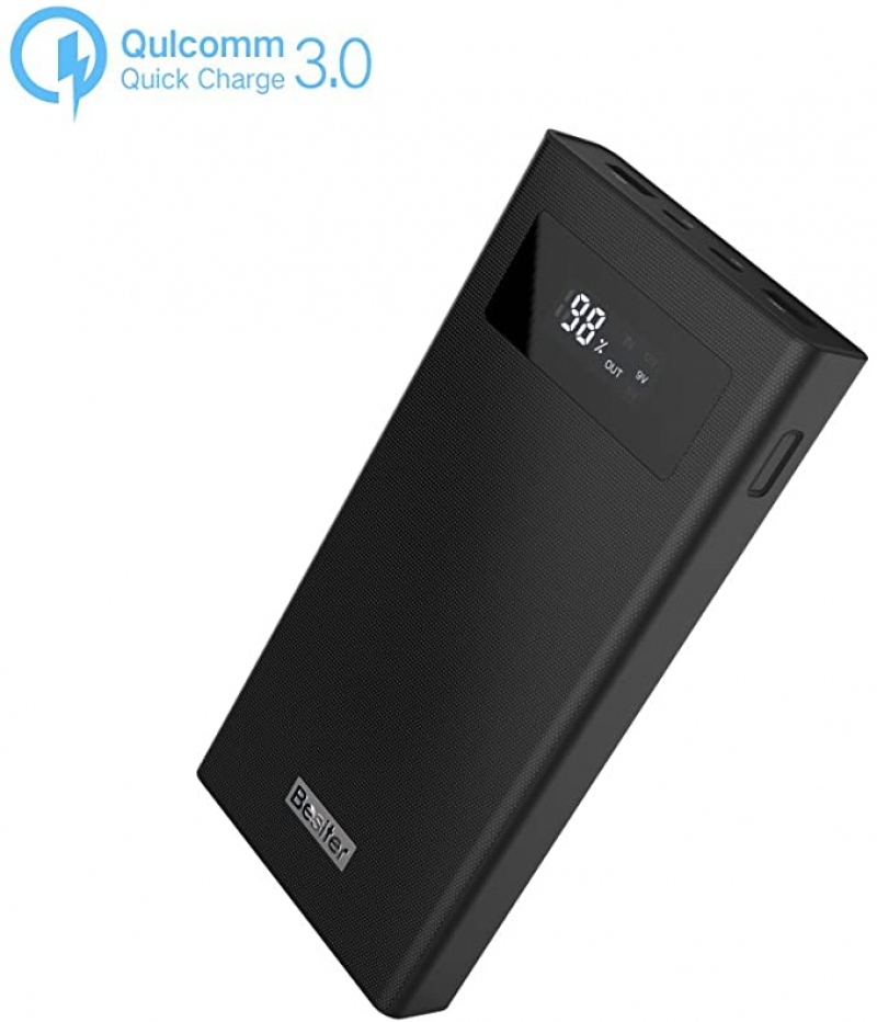ihocon: Besiter 20000mAh 3.0 Dual Input and Dual USB Output Portable Power Bank行動電源/充電寶