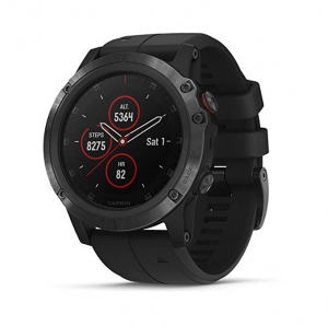 ihocon: Garmin Fenix 5 Plus Premium Multisport GPS Smartwatch Color Topo Maps, Heart Rate Monitoring, Music and Pay 心率監測GPS智能錶