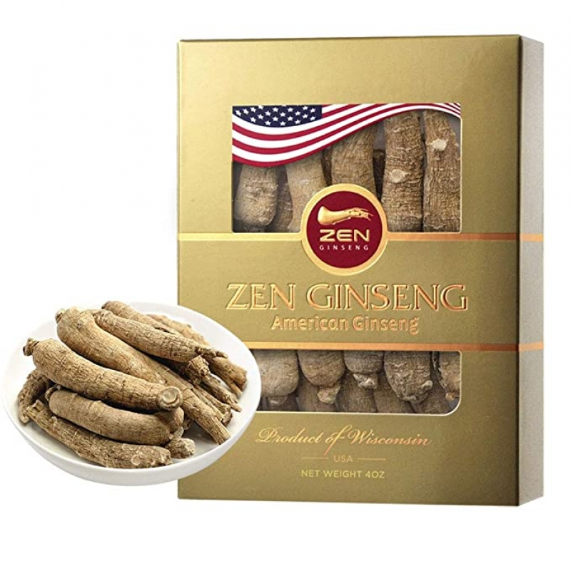 ihocon: American Wisconsin Ginseng Root — Super Long Jumbo (4oz/box)美國威斯康星人參