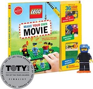 [製作自己的樂高電影] Klutz Lego Make Your Own Movie Activity Kit $11.39(原價$24.99)