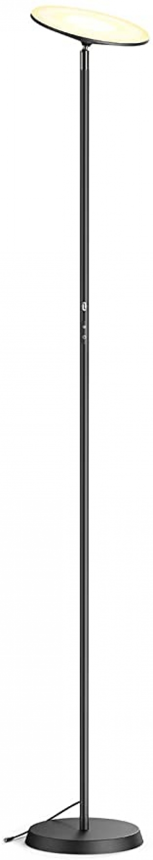 ihocon: TaoTronics LED Floor Lamp 30W 2400lm with 3 Color Modes & 3 Brightness Levels  落地燈