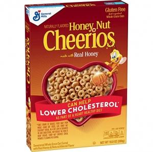 ihocon: Honey Nut Cheerios, Gluten Free Cereal With Oats, 10.8 Oz