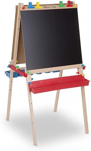 ihocon: Melissa & Doug Deluxe Wooden Standing Art Easel木製畫架