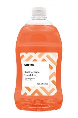 ihocon: [Amazon自家品牌] Solimo Antibacterial Liquid Hand Soap Refill, 56 Fluid Ounces 抗菌洗手液