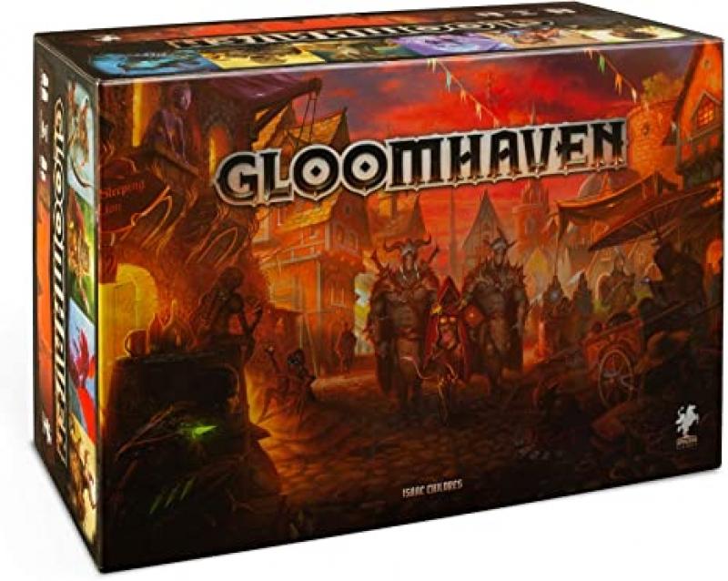 ihocon: 桌遊 - Cephalofair Games Gloomhaven