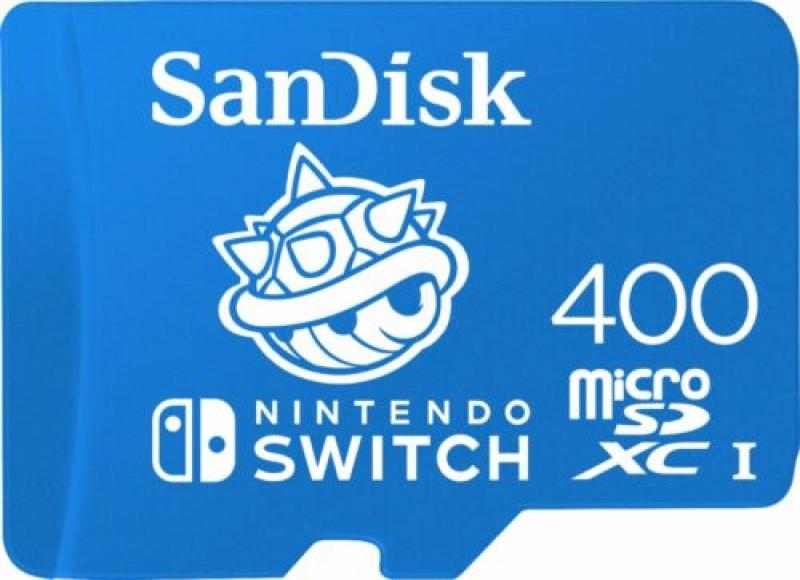 ihocon: SanDisk - 400GB microSDXC UHS-I Memory Card for Nintendo Switch記憶卡