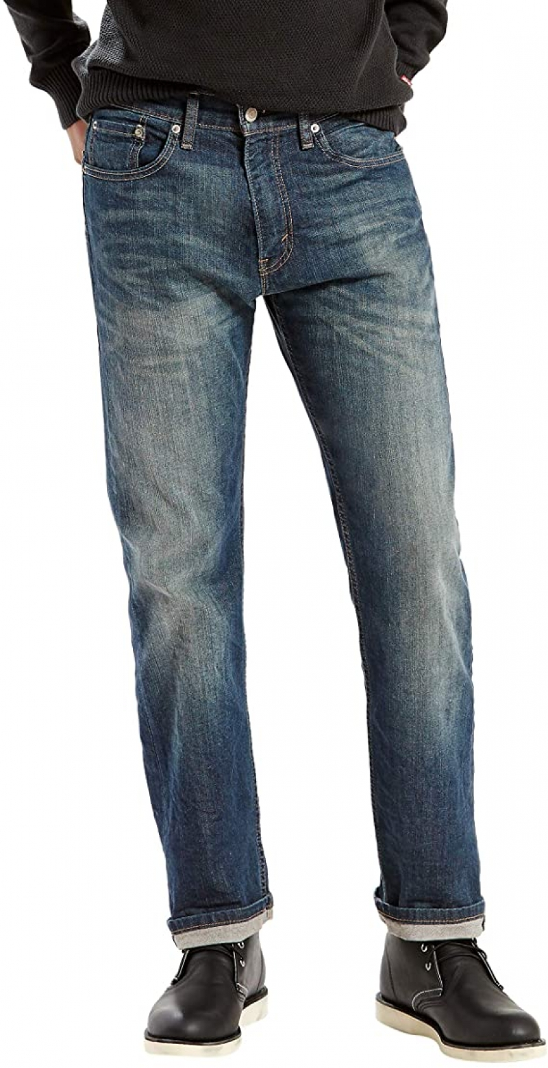 ihocon: Levi's Men's 505 Regular Fit Jeans男士牛仔褲