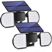 ihocon: Bebrant Solar Lights Outdoor, 56 LED Motion Sensor 太陽能動作感應室外燈 2盞
