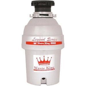 ihocon: Waste King L-8000 Garbage Disposal Legend Series 1.0-Horsepower Continuous-Feed 廚餘處理機